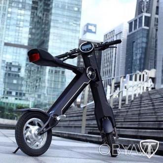 Новейший электрический двухколесный скутер TRIAD К1 класса hi-tech.  Корпус из . Киев, Киевская область. фото 1