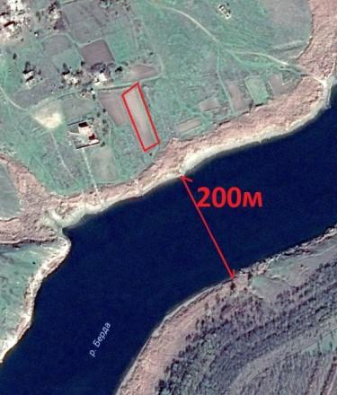 25 соток на берегу Бердянского водохранилища. Бердянск. фото 1