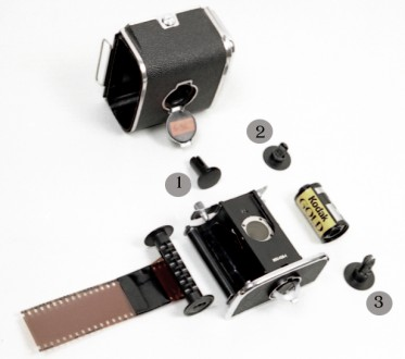 Панорамная кассета для КИЕВ-88 (56 х 24 мм)!. Днепр. фото 1