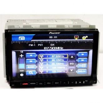 "Продам 2DIN Магнитола Pioneer PI-803 GPS 7""+GPS-MР3-DVD+TV+Fm-тюнер. Киев. фото 1"