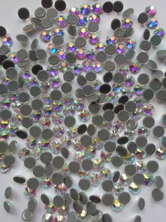 Стразы стекло DMC Премиум термо клеевые Crystal Ав ss16 3,8-4мм горячей фиксации. Киев. фото 1
