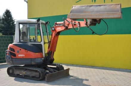 Мини экскаватор Kubota KX61 , 2500 моточасов, Япония, в комплекте 2 ковша, остат. Киев, Киевская область. фото 3