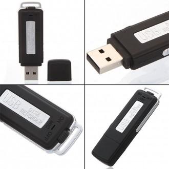 Новый флэш диск с интерфейсом USB и с функцией записи голоса:  USB диктофон мо. Киев, Киевская область. фото 3
