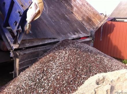 Щебень,песок,бетон.раствор,кирпич,отсев ЗИЛ,КАМАЗ.. Чернигов. фото 1