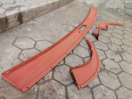 Брызговик задка ГАЗ-12 ЗИМ, в сборе. Никополь, Днепропетровская область. фото 9