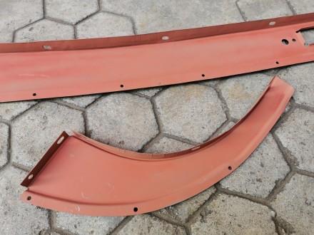 Брызговик задка ГАЗ-12 ЗИМ, в сборе. Никополь, Днепропетровская область. фото 6
