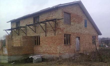 Реализую недостроенный дом в селе Коваливка. 12 км от города Белая Церковь. Жилы. Коваловка, Киевская область. фото 2