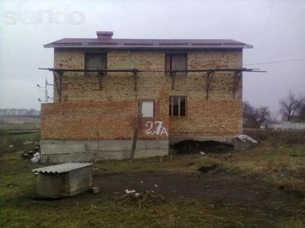 Реализую недостроенный дом в селе Коваливка. 12 км от города Белая Церковь. Жилы. Коваловка, Киевская область. фото 3