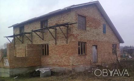 Реализую недостроенный дом в селе Коваливка. 12 км от города Белая Церковь. Жилы. Коваловка, Киевская область. фото 1