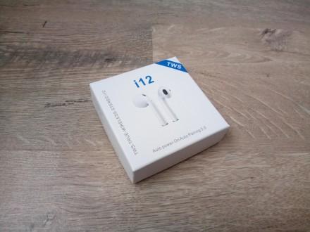 Продаю сенсорные мини беспроводные наушники Apple Airpods i12 TWS.  ПАРАМЕТРЫ:. Киев, Киевская область. фото 2