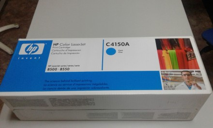 Картридж C4150A для HP Color LaserJet 8500/8550 Cyan. Киев. фото 1