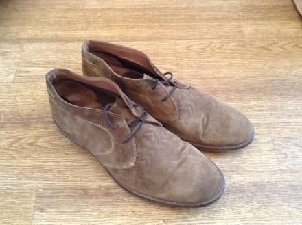 Стильные мужские туфли, покупались в Лондоне, замша отличного качества, мягкие и. Верхньодніпровськ, Дніпропетровська область. фото 3