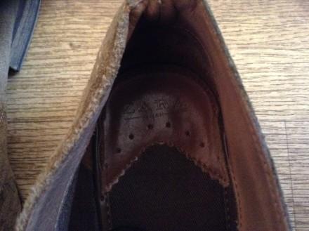 Стильные мужские туфли, покупались в Лондоне, замша отличного качества, мягкие и. Верхньодніпровськ, Дніпропетровська область. фото 4