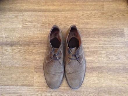 Стильные мужские туфли, покупались в Лондоне, замша отличного качества, мягкие и. Верхньодніпровськ, Дніпропетровська область. фото 2