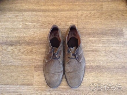 Стильные мужские туфли, покупались в Лондоне, замша отличного качества, мягкие и. Верхньодніпровськ, Дніпропетровська область. фото 1