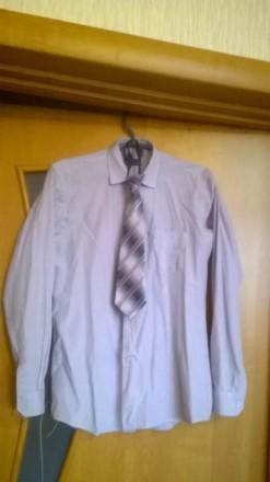 Рубашка для мальчика (+галстук в подарок). Полтава. фото 1