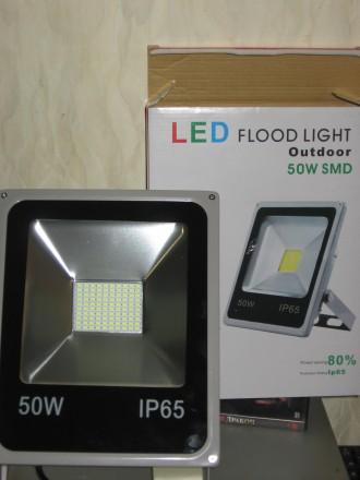 Прожектор-Уличный-не подделка!(LED-50W, 30W, 20W, 10W)+датчик движения. Днепр. фото 1