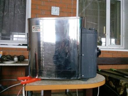 Продам электрокаменку для сауны SAWO SCA-60(90)NB. Киев. фото 1