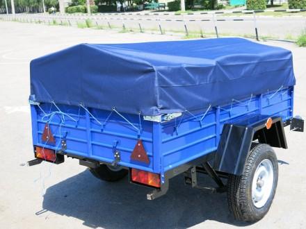 легковой прицеп с завода по доступной цене. Одесса. фото 1