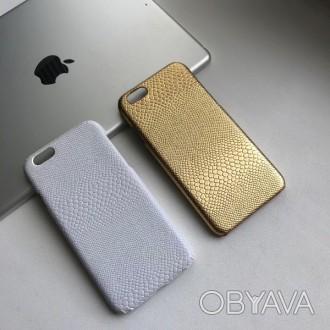 Чехол пластиковый кожа змеи iPhone 6/6s