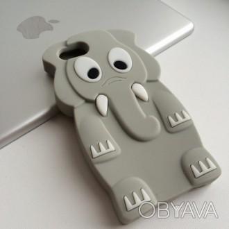 Силиконовые 3D чехлы для iPhone 5 5S
