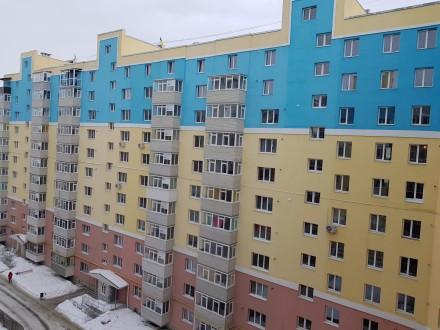 Купите лучшую 1к квартиру в новострое пр-т Лушпы 5 в самом востребованном районе. 9-й микрорайон, Сумы, Сумская область. фото 2