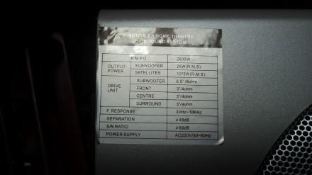 Домашний кинотеатр                                        Мультимедийная акустик. Житомир, Житомирская область. фото 6
