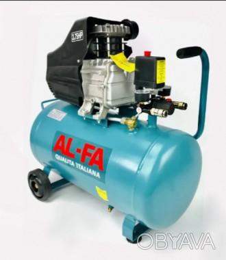 Компрессор AL-FA ALC02 : 2.8 кВт - 50 л