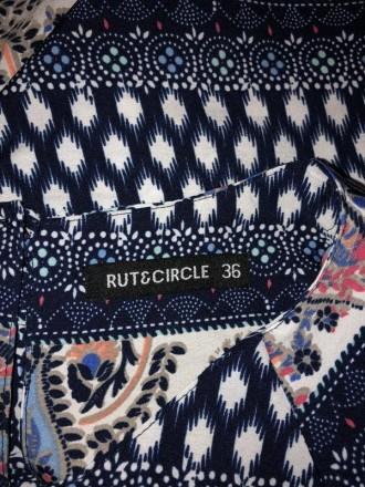 Цветное мини платье с узорами.Легкая ткань,но не тянется.Сзади застежка капелька. Кривой Рог, Днепропетровская область. фото 7