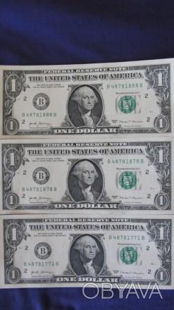 Купюра коллекционная 1 доллар США! Сумы!
