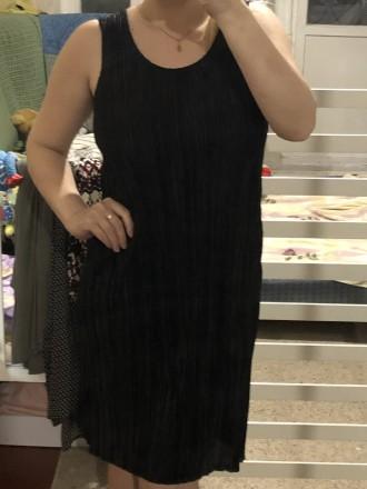 Платье из тонкого велюрового трикотажа.Трикотаж в рубчик.Хорошо тянется.Модель п. Кривой Рог, Днепропетровская область. фото 2