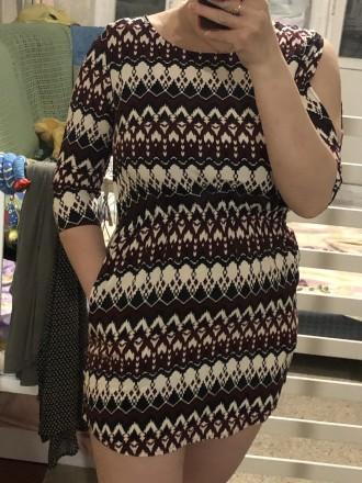 Платье из вискозной легкой ткани.Модель простая,но оригинально смотрятся рукавчи. Кривой Рог, Днепропетровская область. фото 8