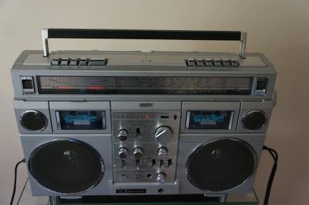Emerson CTR-966 Deluxe Portable type AM/SW1/SW2/FM MPX Stereo Dual Cassette Rec. Черновцы, Черновицкая область. фото 5