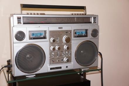 Emerson CTR-966 Deluxe Portable type AM/SW1/SW2/FM MPX Stereo Dual Cassette Rec. Черновцы, Черновицкая область. фото 6