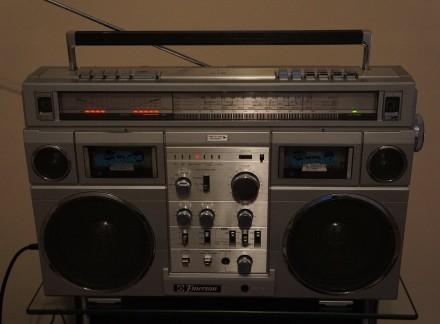 Emerson CTR-966 Deluxe Portable type AM/SW1/SW2/FM MPX Stereo Dual Cassette Rec. Черновцы, Черновицкая область. фото 11