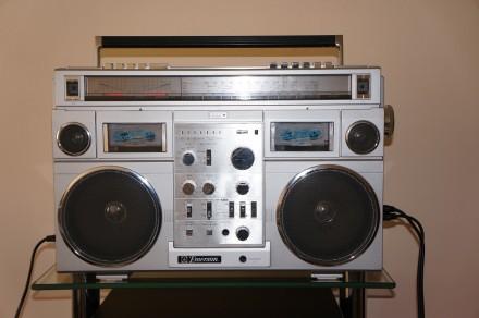 Emerson CTR-966 Deluxe Portable type AM/SW1/SW2/FM MPX Stereo Dual Cassette Rec. Черновцы, Черновицкая область. фото 2