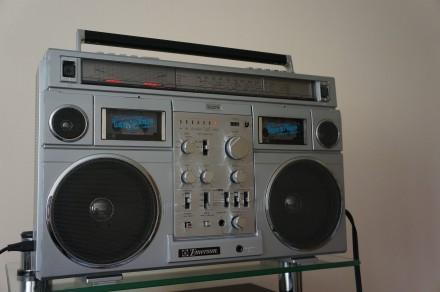 Emerson CTR-966 Deluxe Portable type AM/SW1/SW2/FM MPX Stereo Dual Cassette Rec. Черновцы, Черновицкая область. фото 4