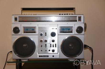 Emerson CTR-966 Deluxe Portable type AM/SW1/SW2/FM MPX Stereo Dual Cassette Rec. Черновцы, Черновицкая область. фото 1