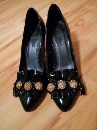 Туфли кожа 33-й размер. Кропивницкий. фото 1
