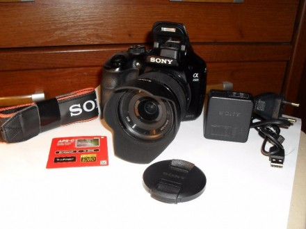 Цифровой фотоаппарат SONY Kit 18-55 mm 20 Mp Full HD video. Кривой Рог. фото 1