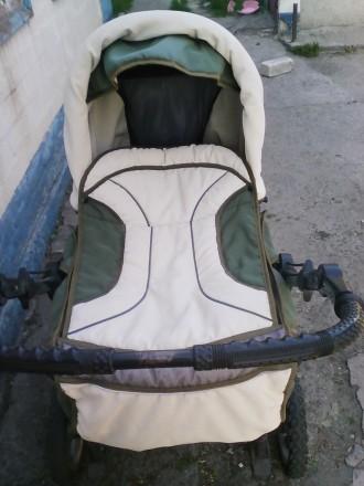 Продам детскую коляску зима-лето. Каменское. фото 1