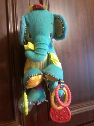 Продам развивающего слоника фирмы Bright Starts. Харьков. фото 1