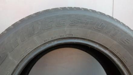 265/65 R17 112 H,  bridgestone  Dueler H/T 840 (2 шт.), M+S, протектор двух шин . Киев, Киевская область. фото 4