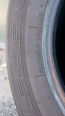 265/65 R17 112 H,  bridgestone  Dueler H/T 840 (2 шт.), M+S, протектор двух шин . Киев, Киевская область. фото 5