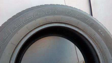 265/65 R17 112 H,  bridgestone  Dueler H/T 840 (2 шт.), M+S, протектор двух шин . Киев, Киевская область. фото 3