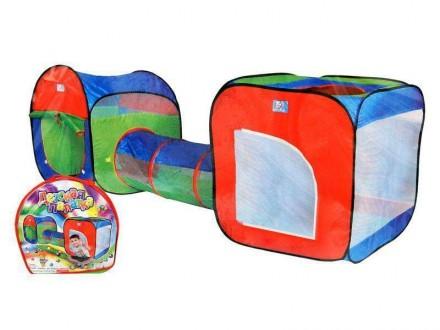 Игровая детская палатка с туннелем (999-120, 999-147). Харьков. фото 1