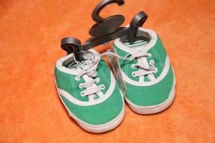 Пинетки - кеды на мальчика Mothercare размер 15. Днепр. фото 1