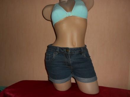 Шорты джинсовые, бренд denim,40/42, xxs/xs размер. Николаев. фото 1