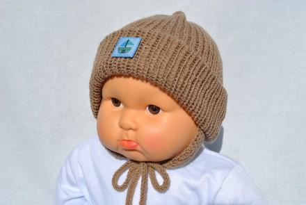 Шапка для новорожденного мальчика. Кривой Рог. фото 1