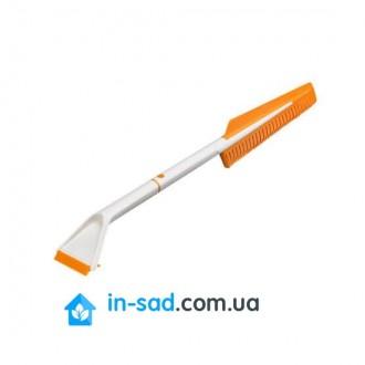 Скребок для льда и щетки Fiskars SnowXpert 143062 (1019352). Киев. фото 1